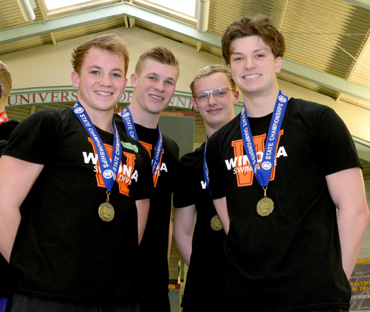 Winona 400 Freestyle Relay Championship Photo