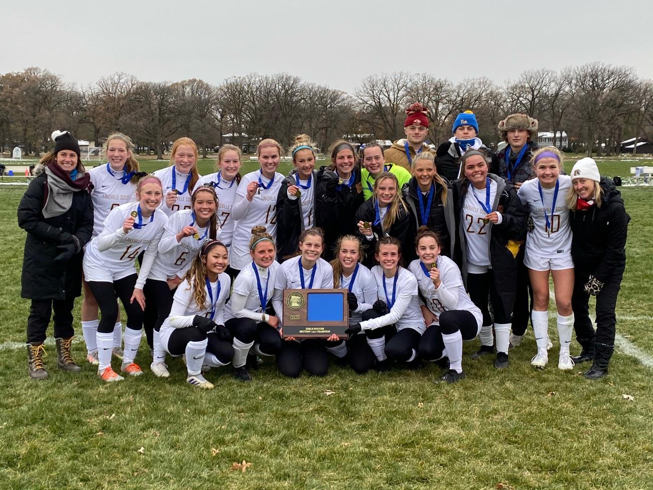 Lakeville South GSOCC Champ Photo
