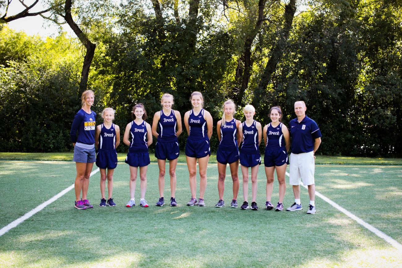 Breck Girls Cross Country
