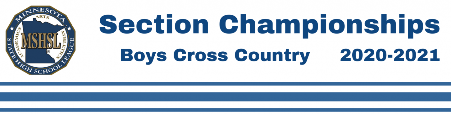 Boys Cross Country Section Header